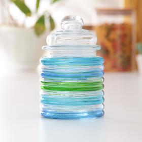 """Bank for bulk products 280 ml """"Overflow"""", MIX colors"""