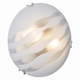 Светильник ONDINA 2x100Вт E27 хром, белый