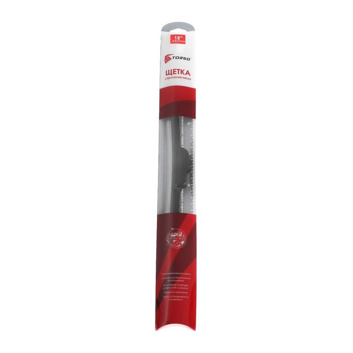 """Щётка стеклоочистителя TORSO, 18""""/450 мм, бескаркасная"""