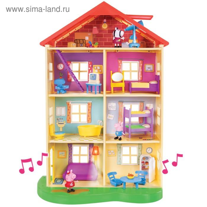 Игровой набор «Большой дом Пеппы», 6 комнат, световые и звуковые эффекты