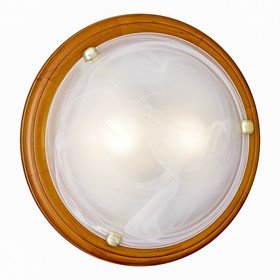 Светильник NAPOLI 2x100Вт E27 золото, коричневый