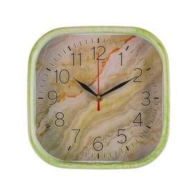 """Часы настенные, серия: Классика, """"Оникс"""", квадратные, 22х22 см в Донецке"""