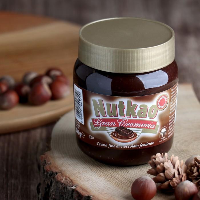 Шоколадная паста Nutkao Domino, тёмный шоколад, 350 г