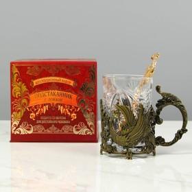 Подарочный набор подстаканник с ложкой «Любимая теща»