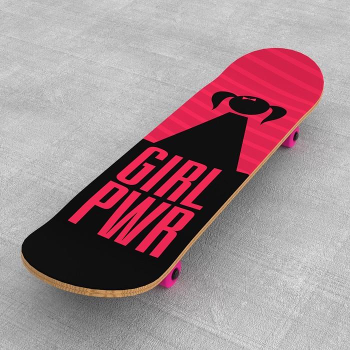 Шкурка для скейта «Girl»