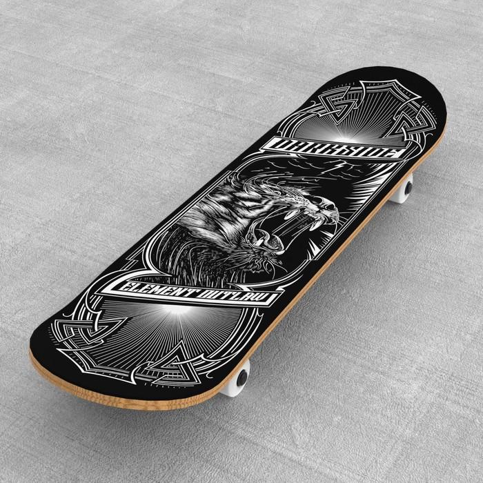 Шкурка для скейта «Darkness»