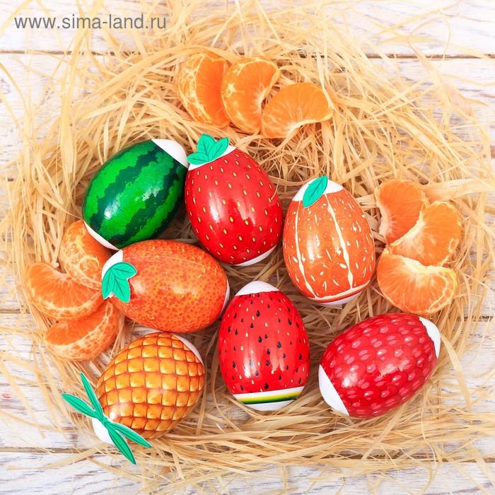 Пасхальный Набор для украшения яиц «Фрукты», 9 х 16 см