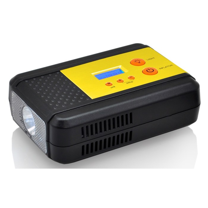 Компрессор КАЧОК К40 20 л/мин, до 8 Атм, фонарь, цифровой  дисплей