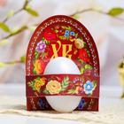 """Easter Card-holder for eggs """"XB"""" (flowers), 9.5 x 11 cm"""