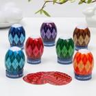 Пасхальный Набор для украшения яиц «Мужской паттерн», 9 х 16 см