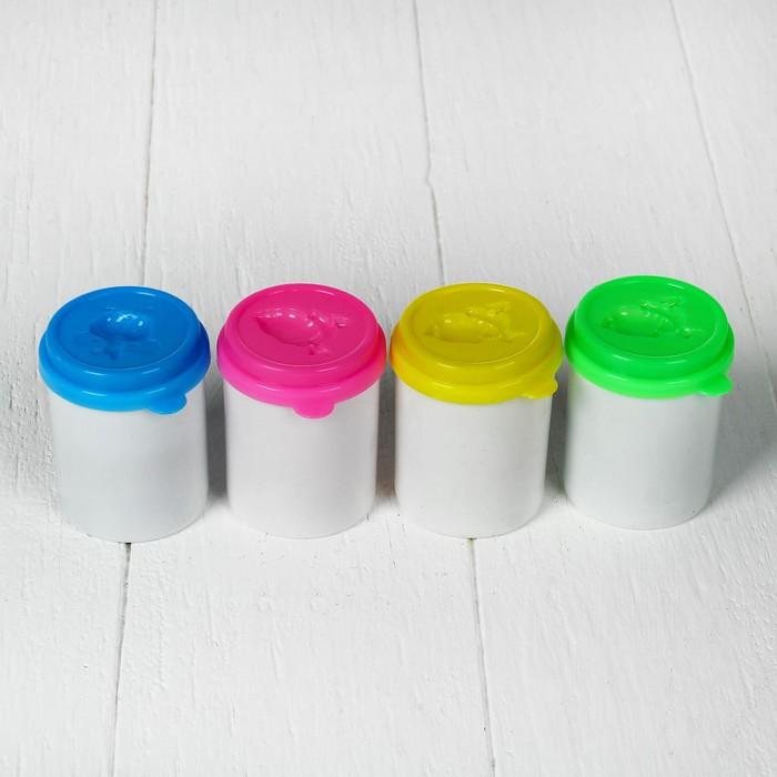 Тесто для лепки, набор 4 цвета 140 гр