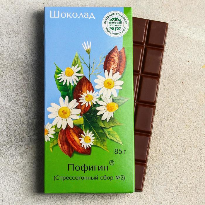 Шоколад молочный «Пофигин», 85 г