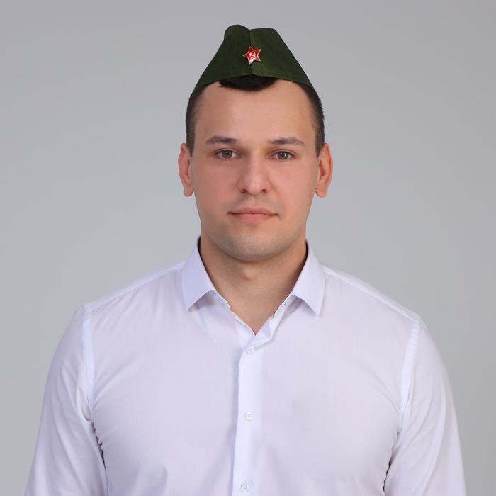 """Набор """"День Победы""""  солдат, пилотка+брошь"""
