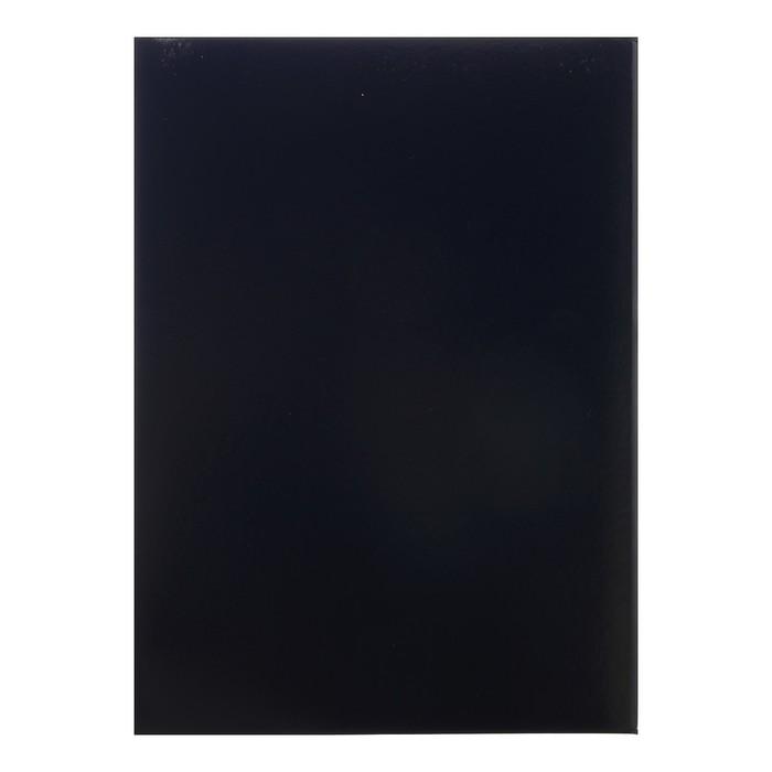 """Папка """"65 лет"""" синяя, бумвинил, А4 - фото 408706738"""