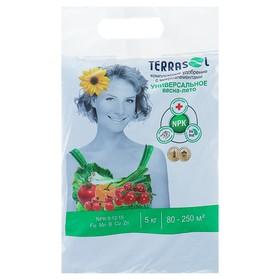 Удобрение Террасол минеральное Весна-Лето  тукосмесь с микроэлементами, 5 кг