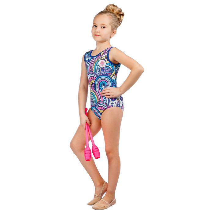 Купальник для спортивной гимнастики Ornament, размер 36