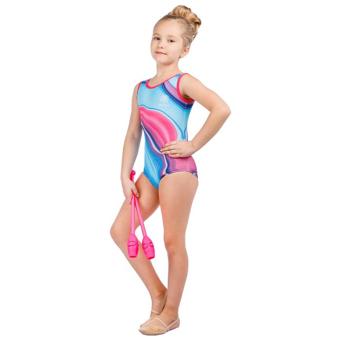 Купальник для спортивной гимнастики Marble, размер 28