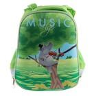 Рюкзак каркасный LeonВergo MidiWrap №1 38*30*17 Gippo, зелёный