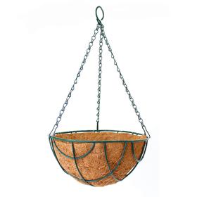 Кашпо подвесное «Сфера», d = 25 см, металл, с вкладышем из коковиты