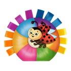 Книжка тактильная с ленточками «Изучаем цвета», 10 стр. - фото 971870