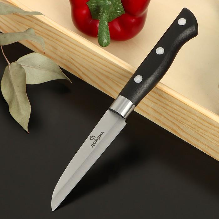 """Knife kitchen """"Kronos"""" blade 9 cm"""