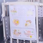 Органайзер на кроватку «Наша принцесса», 50 х 40 см, 7 карманов - фото 970589