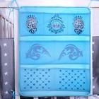 Органайзер на кроватку «Наследник», 50 х 40 см, 7 карманов - фото 970581