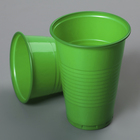 "Glass 200 ml ""Standard"", the color green"