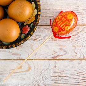 "Easter Souvenir on a stick ""XB"" (the patterns), 6 x 21 cm"