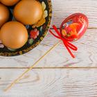 Пасхальный Сувенир на палочке «С Красной Пасхой!», 6 х 21 см