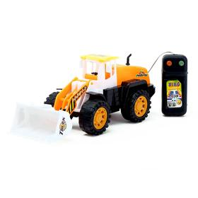 Трактор «Строитель», на дистанционном управлении, работает от батареек, МИКС