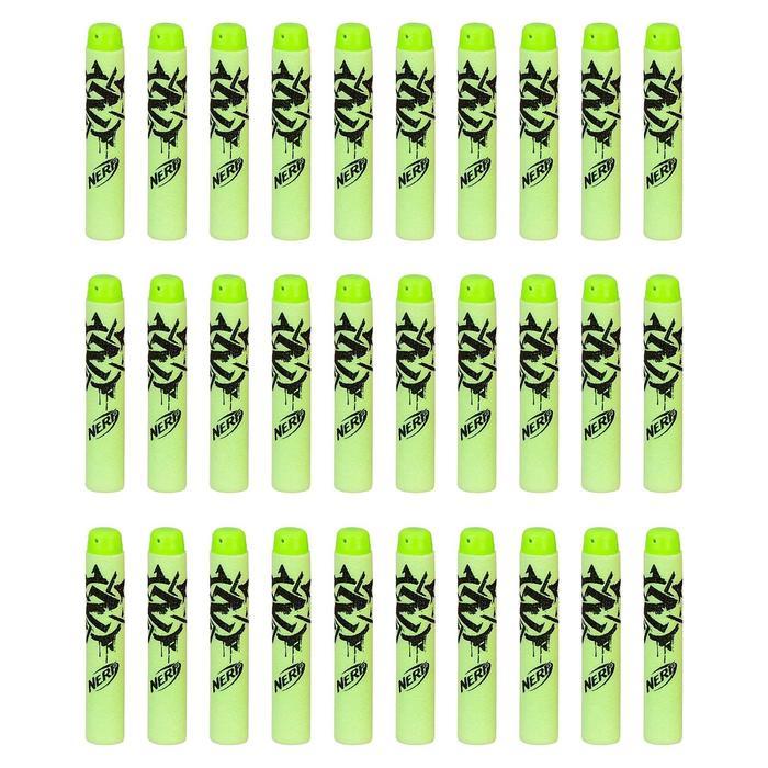 Набор стрел для бластеров «Зомби страйк», 30 шт - фото 105640247