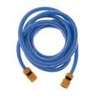 Hose with connectors, 5 m