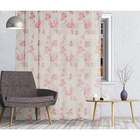 Штора тюль Romance 300х260 см, розовый, на шторной ленте, пэ 100%