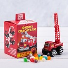 """Candy game box, """"Young rescuer"""" candy 20 g, toy"""
