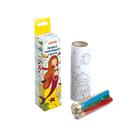 Набор для рисования deVENTE, раскраска самокл в рулоне, 6цв мини-карандашей, к/к 1128700