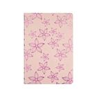 Ежедневник недатированный А5, 160 листов, deVENTE Joli, пастель, розовый, с цветами, искусственная кожа
