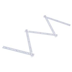 Метр складной LOM, пластиковый, 1 м