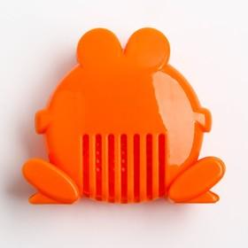 Ковш детский с лейкой-насадкой «Лягушонок», 0,65 л, цвет МИКС - фото 4635478