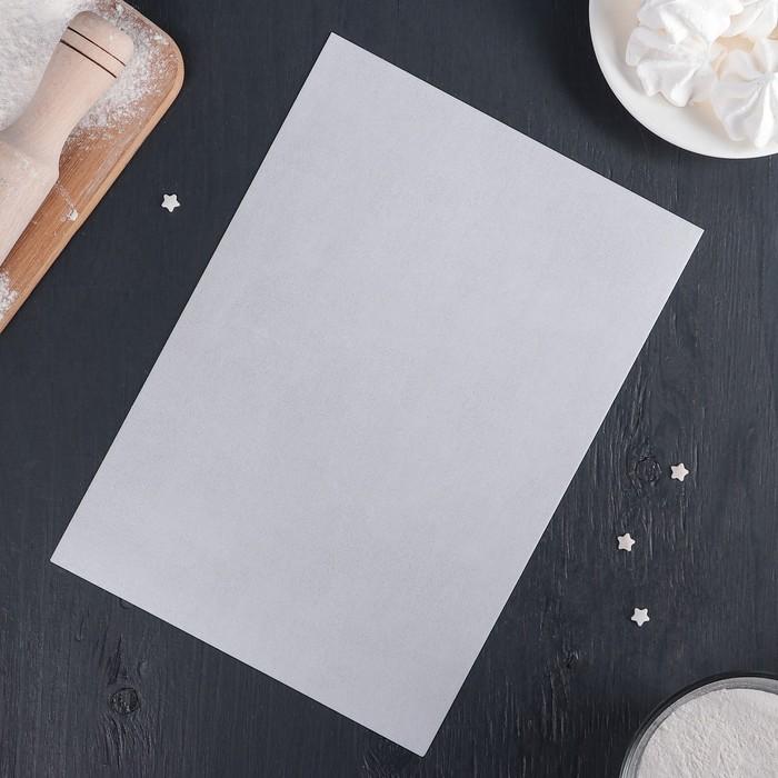 Рисовая бумага для декора торта 30x21x0,1 см, цвет белый