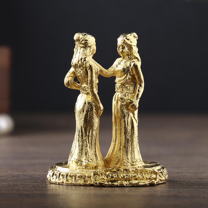 """Фигурки миниатюры женские гороскоп """"Близнецы"""", 4,5 х 3,5 см"""