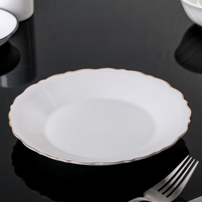 """Тарелка 17,5 см """"Золото"""""""