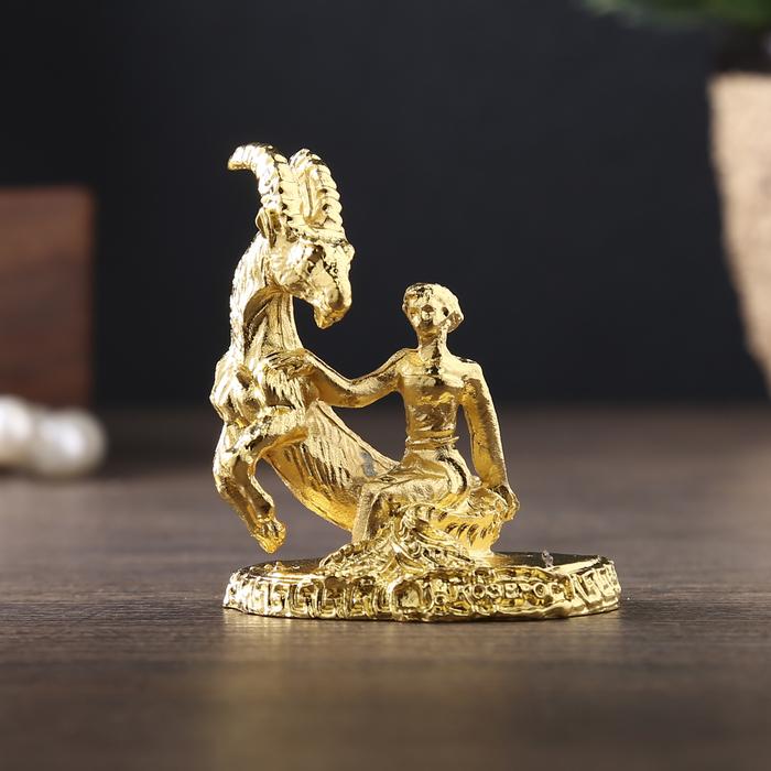 """Фигурки миниатюры женские гороскоп """"Козерог"""", 4,5 х 3,5 см"""