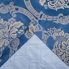 """Покрывало Этель """"Версаль"""" 240*210±3 см, цв.синий, 100% п/э - фото 1192317"""