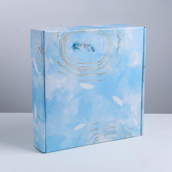 Складная коробка «Вдохновение», 34.3 × 34.9 × 8.5 см