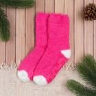 Носки детские Collorista, размер 18 (3-4 года), цвет розовый/белый