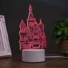 """Светильник """"Кремль"""" LED RGB от сети 10х11,3х21,6см"""