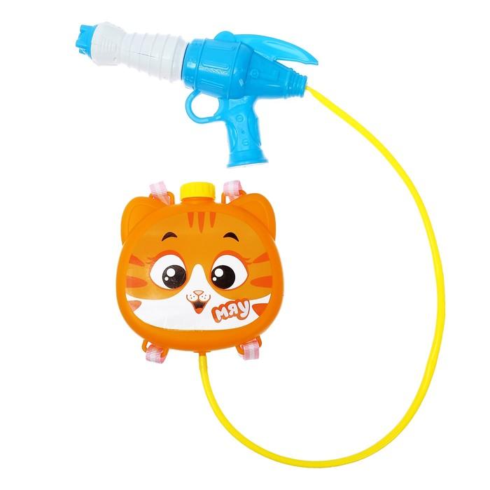 Водный пистолет «Кошка», ранец-баллон