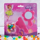 "Set comb, mirror, candy 20 grams of ""Most wonderful"""