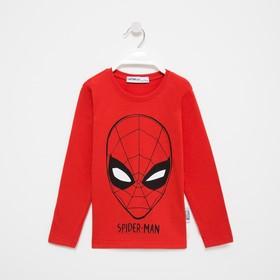 """Джемпер детский MARVEL """"Spider man"""", рост 110-116 (32), красный"""
